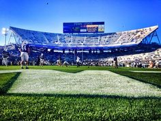 PENN STATE – FOOTBALL 2013 – Penn State vs Michigan on Homecoming, October 12, 2013. Warming up for the Homecoming White Out! 5 p.m. on ESPN.