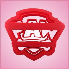 Our Paw Patrol cookie cutters are stamp designed for easy decorating and measure 3-1/4 inches tall, 4 inches wide, they are made of red plastic. Cleaning instructions: hand wash, towel dry. Buy your P