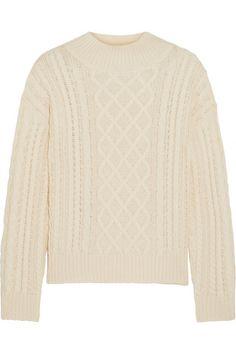 Frame Denim | Cable-knit wool-blend sweater | NET-A-PORTER.COM