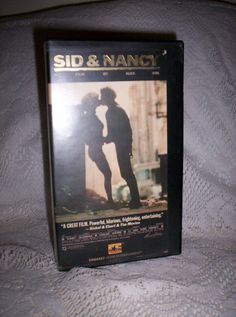 Vintage VHS Tape 'Sid and Nancy' Movie about Sid by SusOriginals