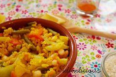 Vegan vegetable paella, get the recipe on my blog idimin.berlin #food #essen #delicious #tasty #yummy #healthy #lecker #leckerschmecker #schmecktgut #cooking #recipe #Rezept #paella #vegan #veggie #vegetarisch #Gemüse #Gemüsegericht