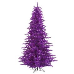 Vickerman 3 Purple Fir Artificial Christmas Tree with 100 Purple Lights ** Want to know more, click on the image.