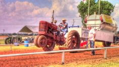 Antique Tractor Pulling Fletcher Oklahoma Free Fair | Homestead Kids