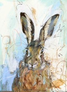 Brown Hare III by James Bartholomew