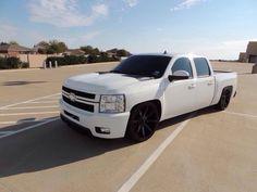 Bagged Trucks, Lowered Trucks, Gm Trucks, Chevy Trucks, Sport Truck, Chevrolet Silverado, Custom Trucks, Cool Cars, Vehicles