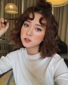 @crushonur Cute Makeup, Beauty Makeup, Makeup Looks, Hair Makeup, Hair Beauty, Korean Makeup Look, Asian Makeup, Korean Beauty, Pretty Hairstyles