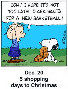 Dec. 20 - This is a classic countdown panel from 1998