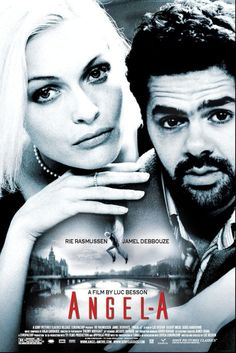Angel-A  [Great] Visually stunning in black-and-white. It's a French film with subtitles (some may be put off by this), and the unlikely pairing of a statuesque supermodel Angel with a low-self-esteem, disabled guy who's fallen in with the wrong crowd works as she helps him understand what life is about, why it's worth living and how to live it. One of those inspirational films that warms the heart and picks you up when you're feeling low. Beautiful.