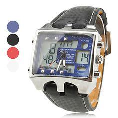 Relógio Esportivo Duplo Movimento Multi-Funções – BRL R$ 45,55
