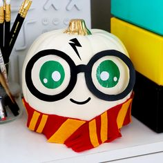 Today I've got a new Halloween DIY video for you guys – I'm making no-carve Harry Potter pumpkins! You guys know that I love anything to do with Harry Potter, and I love how every… View Post Halloween Tags, Halloween Pumpkins, Halloween Crafts, Halloween Makeup, Christmas Pumpkins, Halloween Foods, Halloween Stuff, Scary Halloween, Vintage Halloween