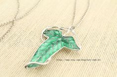 The Lord of the rings jewelry necklace The elves by katrinakishi, $2.80 (okay yeah, I want it.)