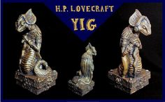 H.P. Lovecraft - Yig  'The Father of Serpents' by zombiequadrille.deviantart.com on @deviantART