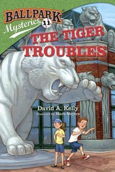 Ballpark Mysteries #11: The  Tiger Troubles - New in our Children's Library