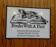 books with a past bookstore, glenwood & savage (md)