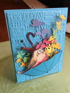 CAS373-April Birthday by SodakStamper - Cards and Paper Crafts at Splitcoaststampers