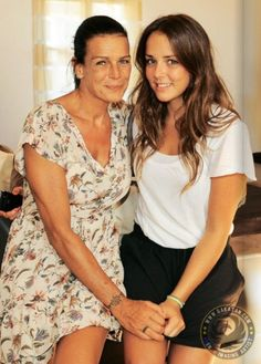 Princess Stephanie with her daughter Pauline Ducruet
