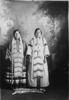 Matilda One Horn, Mrs. Eugene Yellow Lodge - Hunkpapa - circa 1900