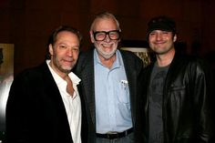Greg nicotero, John landis and Tom Savini