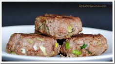 Vegged Up Burgers - simple burgers with vegetables in the patties.