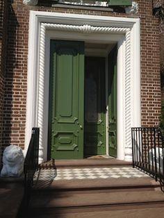 double green door