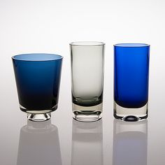 KAJ FRANCK, MALJAKOITA, 3 kpl, signeeratut. Glass Design, Design Art, Clay Vase, Art Of Glass, Scandinavian Art, People Photography, Pottery Vase, Finland, Modern Contemporary