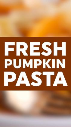 This simple pumpkin pasta with just two ingredients is a quick and simple, but still delicious, fall dinner.