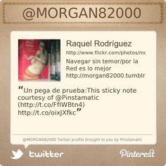 @MORGAN82000's Twitter profile courtesy of @Pinstamatic (http://pinstamatic.com)