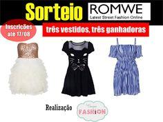 """""""A @Juh Sarah Oliveira está sorteando três vestidos em parceria com a @RomweShop, participe!http://ads.tt/9CVF"""" #Romwe #Sorteio"""