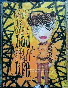 Sandra Botham/Red Kitty B Creates  Journal Page...