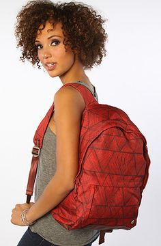 The Excursion Backpack in Bermuda Red OS