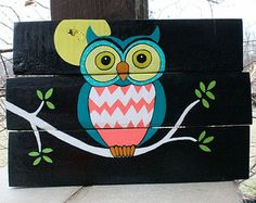 Owl Be Watching You- Wood sign