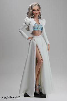 #doll #dresses / meg fashion doll / 12.33.24