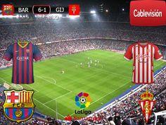 Liga Santander 2016/17 25º Fecha: Barcelona 6-1 Sporting Gijon