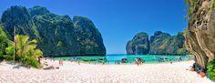 Maya Bay, Ko Phi Phi, Thailand | Read travel stories: http://scarletscribs.wordpress.com/