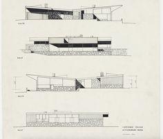 Robinson House: Marcel Breuer | Modern Architecture Blog