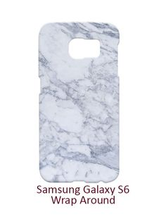 Marble Samsung Galaxy S6 Case Cover Wrap Around