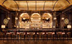"Rosina Las Vegas - Photo: © Restaurant & Bar Design Award – The Rosina Bar in Las Vegas received the ""Best Overall - Cafe Restaurant, Restaurant Design, Architecture Restaurant, Art Deco Bar, Bar A Vin, Café Bar, Bar Design Awards, Bar Interior Design, Top Interior Designers"
