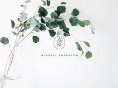 Mineral Emporium Small Cottage Interiors, Papers Co, Minerals, Fonts, Presentation, Branding, Graphic Design, Website, School