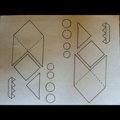 Monster bookmark pattern.