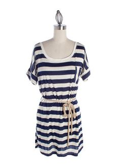 nautical stripes for summer--classic!