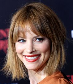 sienna guillory glamour makeup | ... On The Traditional Bob: Girls in the Beauty Department: glamour.com