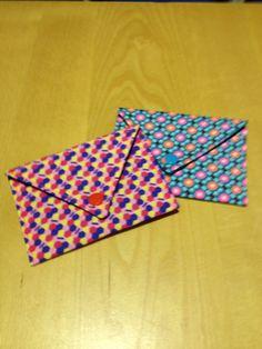 Twee envelopjes voor 2 leuke madammekes!