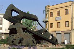 The Sandal Monument, Asmara, Eritrea
