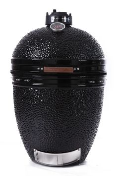 Kamado the Black Bastard ceramic bbq | the big black egg
