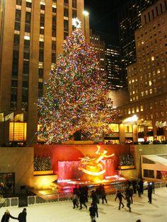 Christmas in New York - bucket list