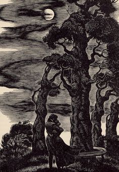 Jane Eyre by Charlotte Bronte, with wood engravings by Fritz Eichenberg
