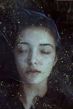 """Marta #Bevacqua  """"Universe"""" Аделаида Крэпси """"Знамение"""" """"Буквально только что Из сумрака, застывшего Недвижно, – и странного, и стылого, – Вдруг выпорхнул белесый мотылек... С чего Мне стало зябко?"""""""