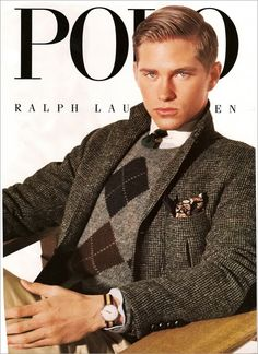 Polo Ralph Lauren Advertisement | polo ralph lauren ad campaign / credit: scanned by nego00 ...