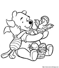 Winnie The Pooh Coloring Book 18