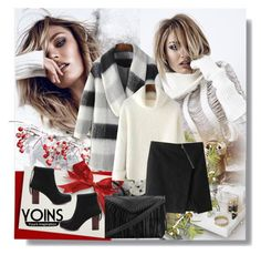 """""""Yoins com 26"""" by ubavka ❤ liked on Polyvore featuring Privé, fashiontrend, yoins and yoinscollection"""